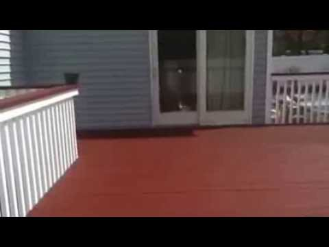 Deck Restore Coating Youtube
