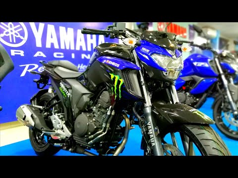Yamaha FZ25 Monster Energy MotoGP Edition | Walkaround Review - 2019 Yamaha FZ25 Monster Energy