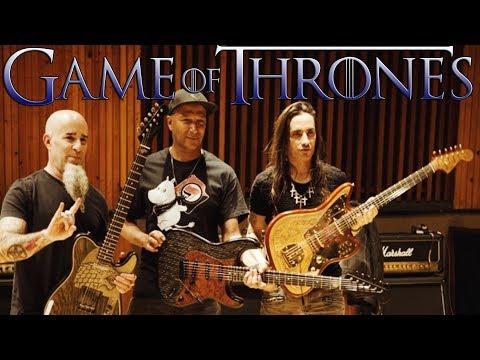 Game Of Thrones Fender - Nuno Bettencourt, Tom Morello E Scott Ian  - Game Of Thrones