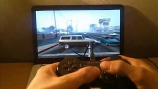 Playing GTA5 PC With PS3 Controller (new Tutorial 2017 in Description)