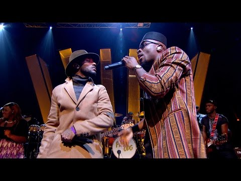 Fuse ODG - T.I.N.A (feat. Angel) - Later... with Jools Holland - BBC Two