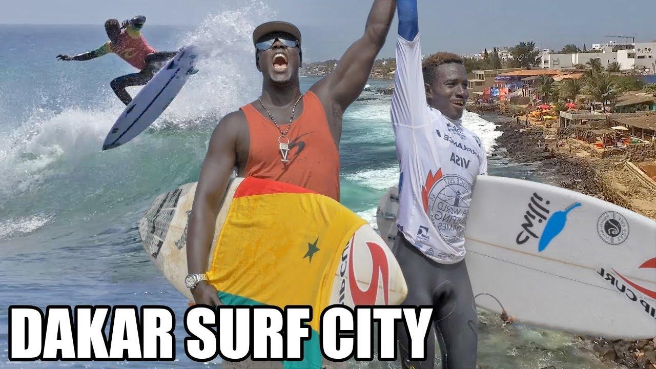 DAKAR SURF CITY : à la découverte du surf sénégalais !