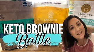 Keto Brownie Battle | Which came out on top??