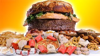 Fast Food Burger - Epic Meal Time