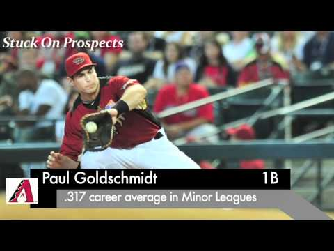1B Paul Goldschmidt, Arizona Diamondbacks: 1st Prospect to Hit 30 HR in '11