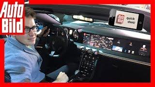 Quickshot: Oberklasse-Cockpit (2018) Das Cockpit der neuen S-Klasse?
