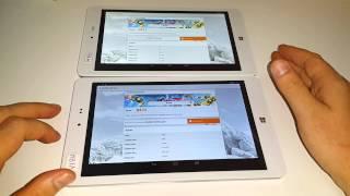 Chuwi Hi8 Vs Chuwi Vi8 Ultimate - Performance and screen