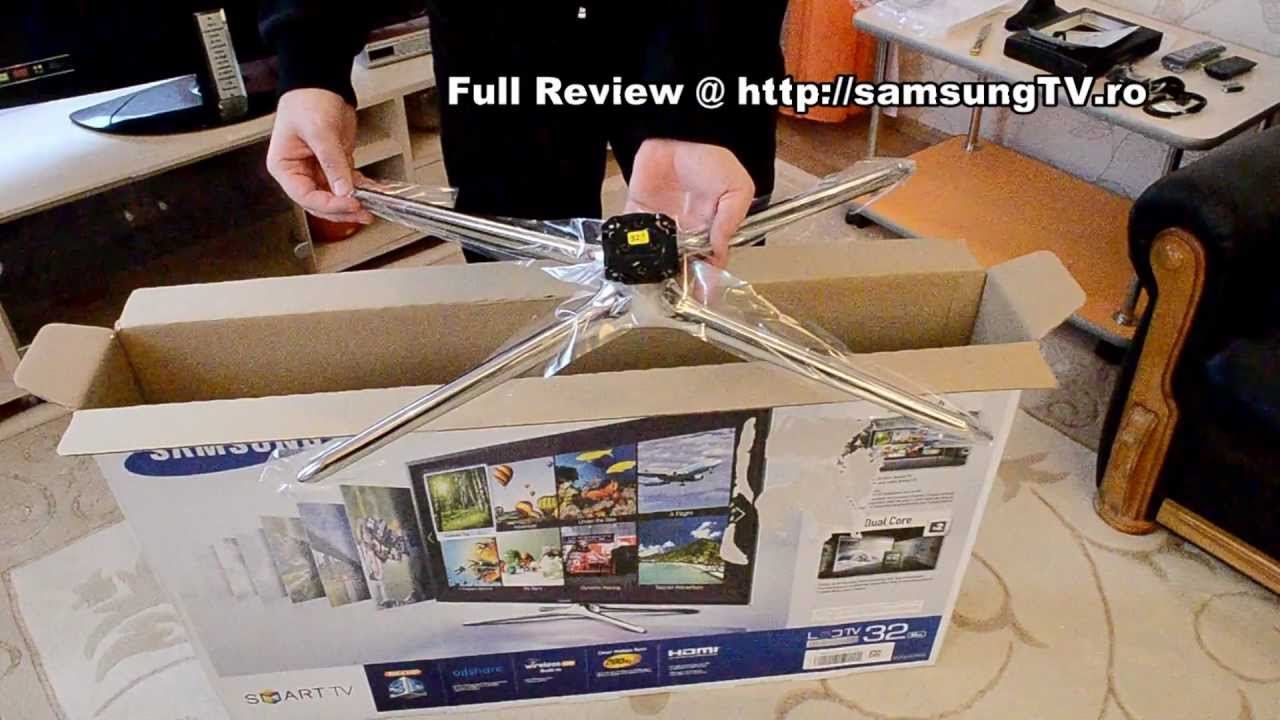 Samsung 32F6400 Unboxing