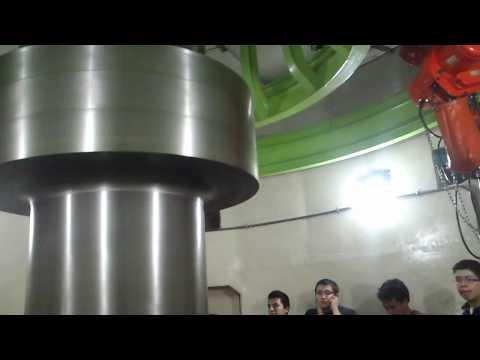 Turbina Francis en movimiento - Central Hidroeléctrica Agoyán - Ecuador