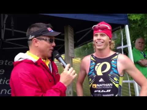 Columbia Triathlon 2013 Cam Dye Interview