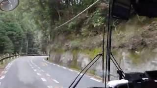 南海バスに乗って金剛山ロープウェイ前から河内長野駅に帰ります!