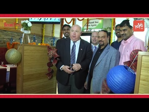 Biryani Pot Restaurant Grand Opening @ New Jersey USA | James Barberio, Louis Valori | YOYO TV