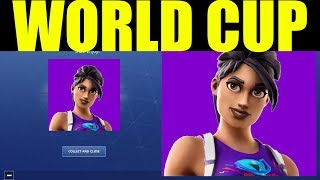 Fortnite World Cup Skins Wraps & Emotes Release Dates (World Warrior & World Cup Style Fishstick)