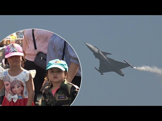 Fighter Jet Display For Thailand Children's Day 2019