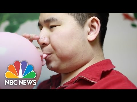 Gifted Autistic Boy Makes 'Ausome' Balloon Art | NBC News