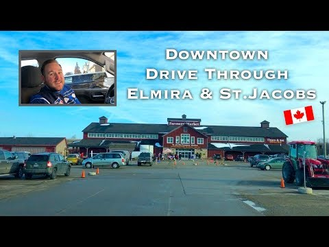 Elmira And St Jacobs, Ontario Downtown Drive 🇨🇦