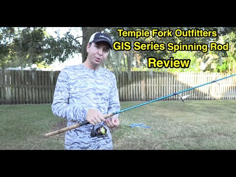 Temple Fork Outfitters GIS Series Spinning Rod Video Review