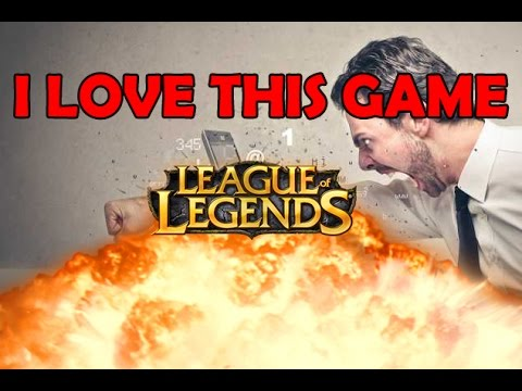 LEAGUE RAGE - WHY DO I PLAY THIS F*@KING GAME??