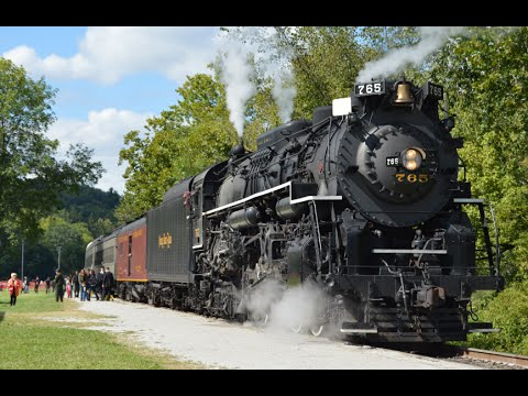 NKP 765: Steam in the Valley 2014