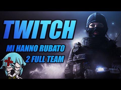 MI RUBANO 2 FULL TEAM! Massacro Parco Divertimento!  W/ Safe_Jkl, Jaco & TRUCE - Rainbow Six Siege