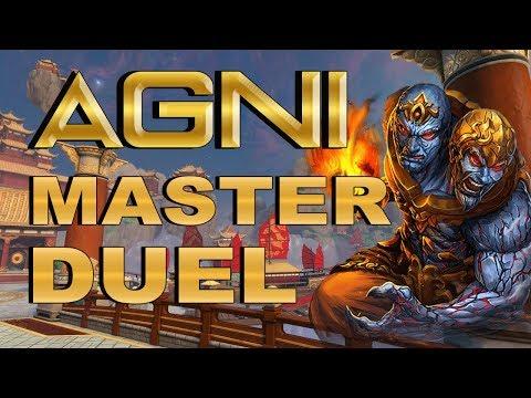 SMITE! Agni, Cambiamos el elemento no el daño! Master Duel S4 #164