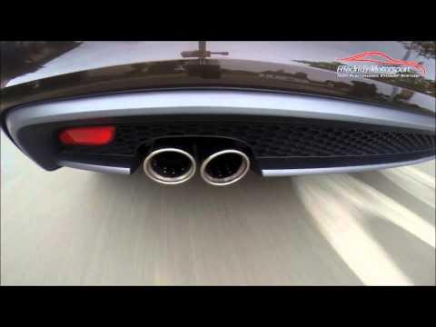 Friedrich Motorsport Audi A1 1.4l TFSI Gruppe A Anlage mit Vorschalldämpferattrappe