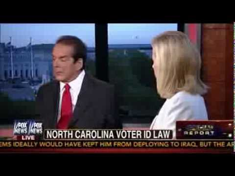 Krauthammer, Juan Williams battle over voter ID laws