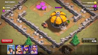 Clash of Clans miner new!! duel maut,, battle attack funny miner!!