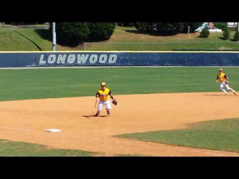 Tanner Revis Dirtbags Baseball Enka Barehand @ 3rd