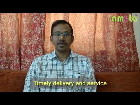 Timely delivery of Curtains and Good Service - Mr Ramesh Motamarri