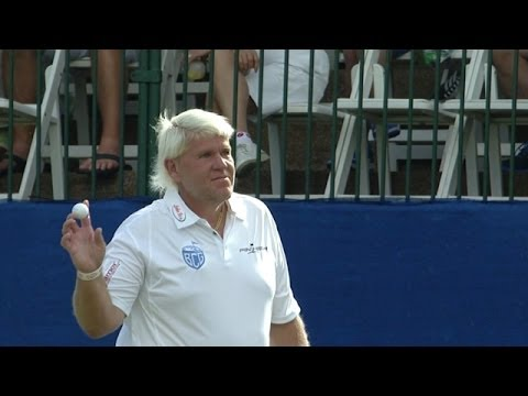 John Daly Drains 42-foot Eagle Putt On No. 18 At Sony Open