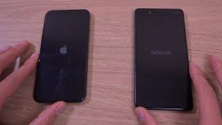 iPhone X vs Nokia 8 - Speed Test!
