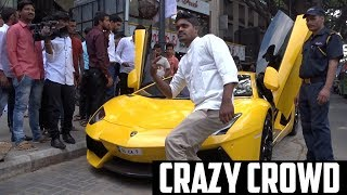 What people do when they see a Lamborghini in India | #180