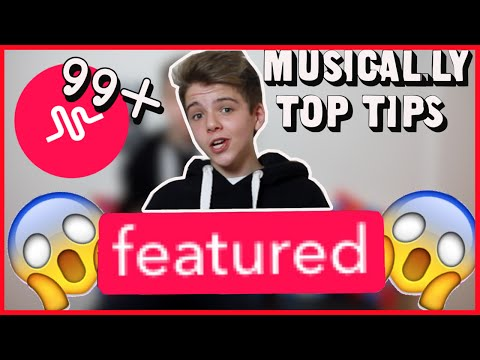 Musical.ly Tutorial - HOW TO GET FEATURED ON MUSICALLY  - How To get Free Followers on Musical.ly