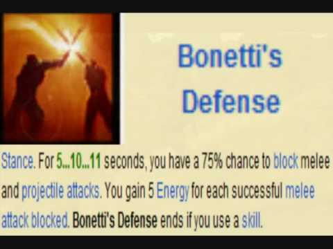 Bonettis defense