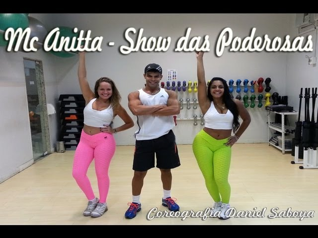 Mc Anitta - Show das Poderosas Coreografia Daniel Saboya TRAVEL_VIDEO