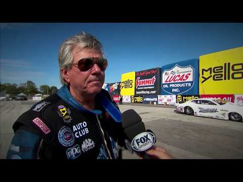 Emotions are showing in the NHRA Countdown to the Championship