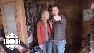 Heartland Set Tour with Amber Marshall and Graham Wardle | Heartland | CBC