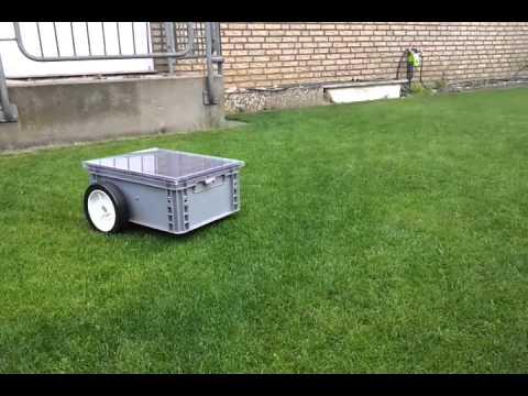 Eigenbau Automower Rasenroboter Teil1 Ausparken Und Mahen