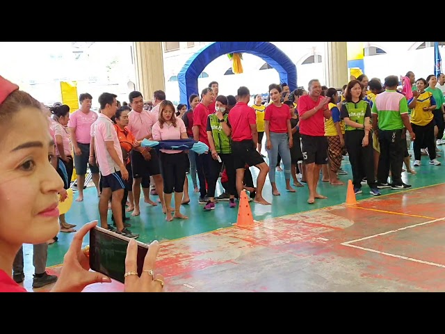 บรรยากาศการแข่งขันกีฬาชมรมผู้ปกครองโรงเรียนในสังกัดเทศบาลนครภูเก็ต ประจำปีการศึกษา 2562