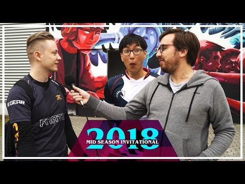 Doublelift interrupted by Rekkles while talking Team Liquid\'s bad MSI start