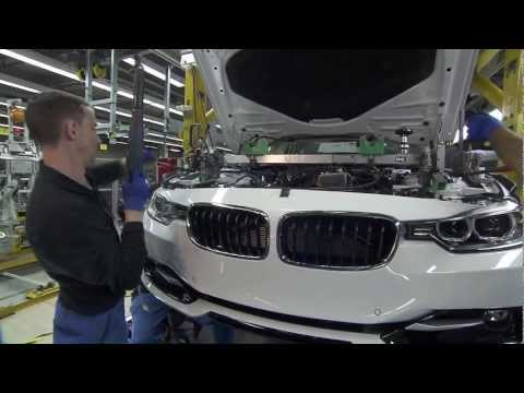 BMW F30 3 Series Production Process - Final Assembly [5/5]