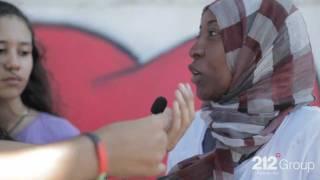 فنانات ليبيات يزينون شوارع  طرابلس | Libyan Artists Paint Tripoli Walls