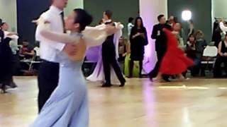 Harvard Invitational Ballroom Dance Competition 2017 Quickstep