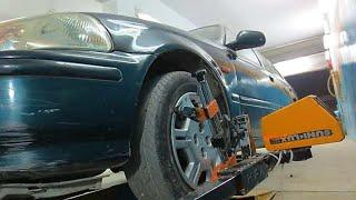 Wheel Alignment of Civic | Complete Procedure