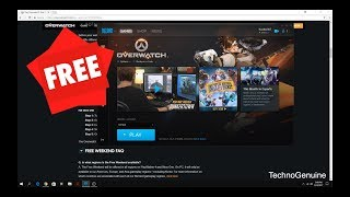 How to Download Overwatch For Free WEEKEND Legally with Multiplayer on PC (NO CRACK)