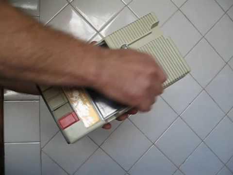 Retro Compact Cassette Player