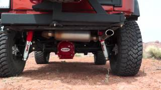 "Rancho 4"" SPORT system for the Jeep Warangler JK"