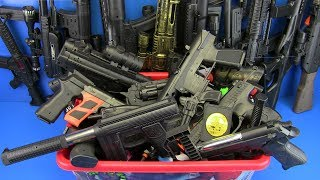 Box of Toys !!! Guns Toys Video for kids