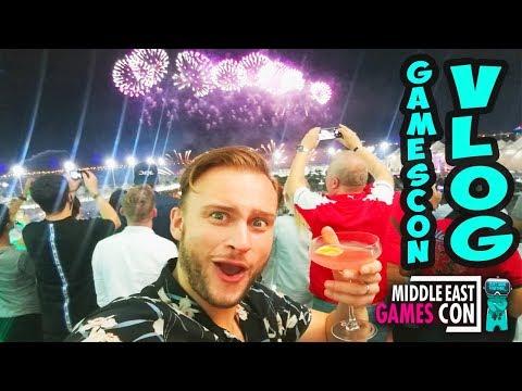 GAMESCON 2017 VLOG (+ ABU DHABI GRAND PRIX VIP!!)